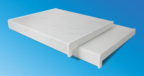 Пластиковый подоконник белый 100*20 (п.м.)