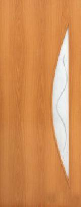 Ламинированная дверь (5Ф) полотно с элементами фьюзинга