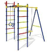 Детский Спортивный Комплекс Маугли-14 уличный для дачи (дачник)