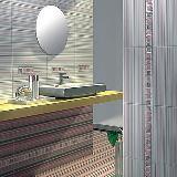 Асти Бьянка, Грей керамическая плитка 40,5х20,1  (1 кв.м)
