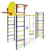 Детский спортивный комплекс Маугли-11 уличный для дачи
