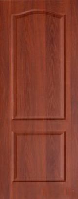 Ламинированная дверь Палитра глухое полотно