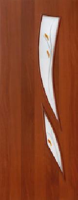 Ламинированная дверь (8Ф) полотно с элементами фьюзинга