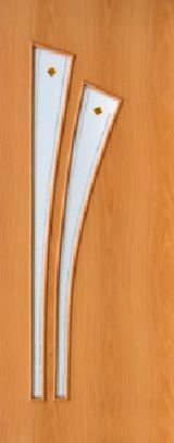 Ламинированная дверь (4ф) полотно с элементами фьюзинга