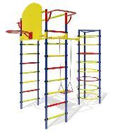 Детский спортивный комплекс Маугли-12 уличный для дачи