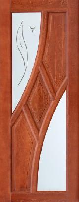 Дверь из массива Клэр махагон полотно